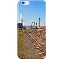 Summerau railway station | architectural photography iPhone Case/Skin