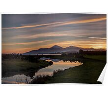 Mourne Sunset Poster