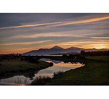 Mourne Sunset Photographic Print