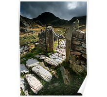 North Wales : Gateway to Tryfan Poster