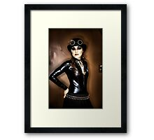 Steampunk Portrait Framed Print
