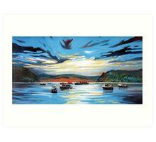 Portree Harbour Art Print