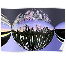 Fireworks city  Poster