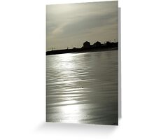 early evening  Greeting Card