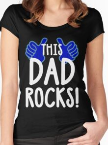 This Dad Rocks! Women's Fitted Scoop T-Shirt
