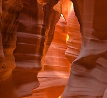 Antelope Canyon, Arizona. by Philippe Widling
