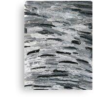 razor clams, camber sands Canvas Print