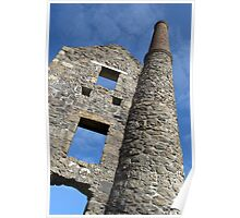 Cornish Mine Poster