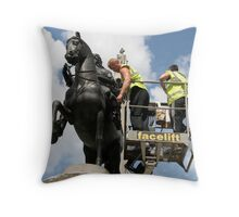 You promised me! id go right to the top with this job! Throw Pillow