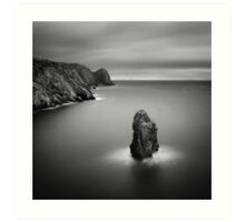 Donegal Sea Stack Art Print