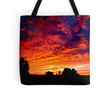 Sunrise Over Eugene  Tote Bag