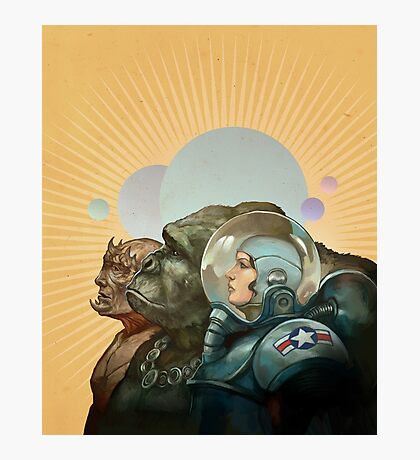 Heroes of the Solar System Photographic Print