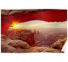 Mesa Arch Sunrise. Poster