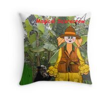 Limpopo - The African Magical Scarecrow Throw Pillow
