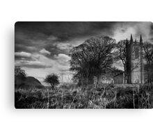 Drumcliffe Church, Co Sligo, Ireland. Canvas Print