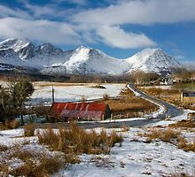 Torrin Village in Winter, Isle of Skye, Scotland. by photosecosse /barbara jones