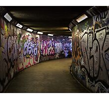 Subway Art Photographic Print