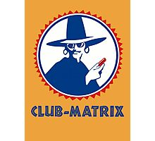 Club-Matrix Photographic Print