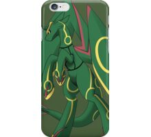 pokemon rayquaza bronies anime shirt iPhone Case/Skin