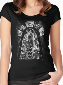the tattooed woman Women's Fitted Scoop T-Shirt