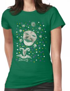 dim areas from dark stars Womens Fitted T-Shirt