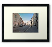 Summer in the city II | architectural photography Framed Print