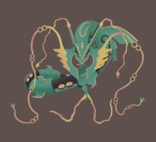 pokemon mega rayquaza dragon anime shirt by JordanReaps