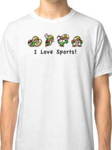 I Love Sports! Classic T-Shirt