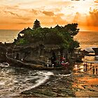 Tanah Lot Temple - Bali by John Miner