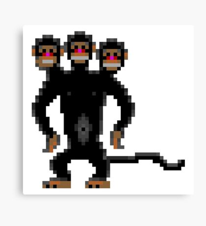 Look behind you! (Monkey Island) Canvas Print
