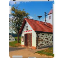 Old traditional firehouse II | architectural photography iPad Case/Skin