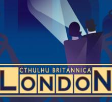 Cthulhu Britannica London Investigator's Guide Sticker