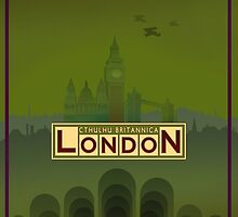Cthulhu Britannica London Keepers Guide by Jon Hodgson
