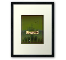 Cthulhu Britannica London Keepers Guide Framed Print