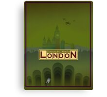 Cthulhu Britannica London Keepers Guide Canvas Print