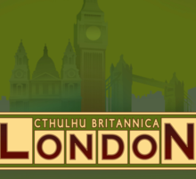 Cthulhu Britannica London Keepers Guide Sticker