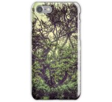 The tree in rain iPhone Case/Skin