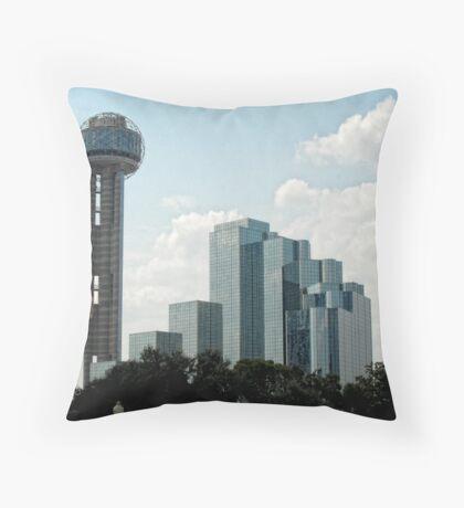 Reunion Tower Throw Pillow