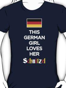 THIS GERMAN GIRL LOVES HER SCHNITZEL T-Shirt