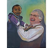 Heavenly Grandma Photographic Print