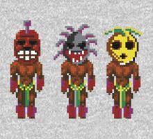 Monkey Island's Cannibals (Monkey Island) One Piece - Long Sleeve