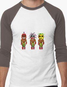 Monkey Island's Cannibals (Monkey Island) Men's Baseball ¾ T-Shirt