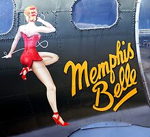 Memphis Belle Nose Art by Wayne Gerard Trotman