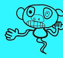 MonkeyGhost! by Jasper Sman