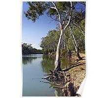 Murrumbidgee River at Hay Poster