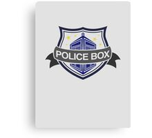 Badge Doc Canvas Print