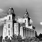 Manti, Utah LDS Temple by R. Mike Jacobson