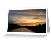 Lehigh Sunset Greeting Card