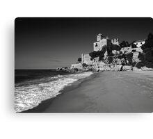 Sand Castle. Canvas Print