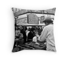 Hungry? Throw Pillow